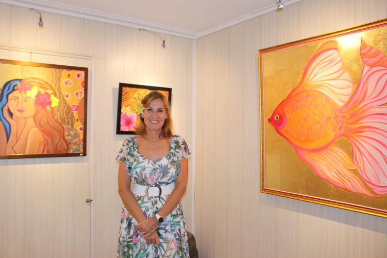 La peintre Isabelle Luria expose seule pour la première fois