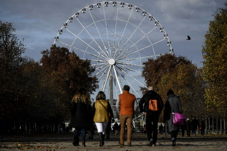Dernier tour de manège pour la Grande roue de Paris
