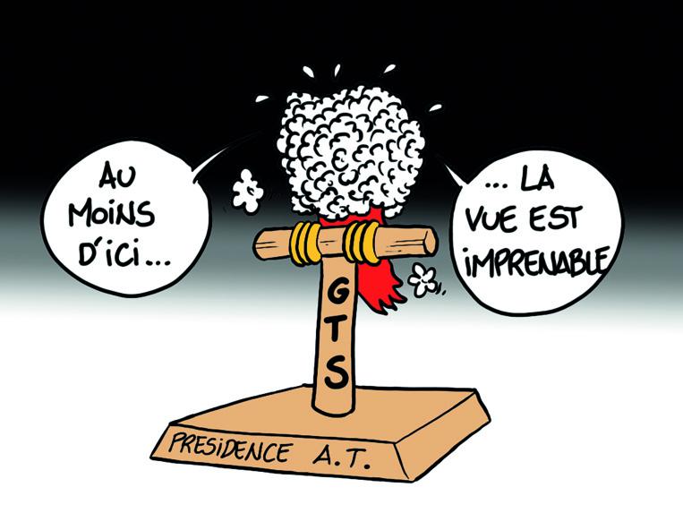 """"""" GTS Président de l'Assemblée """" par Munoz"""