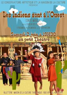 """Les petits """"Indiens"""" du Conservatoire à la conquête du Petit théâtre"""