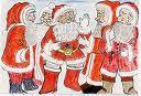 Les pères Noël, réunis en congrès, encore divisés sur la date du réveillon