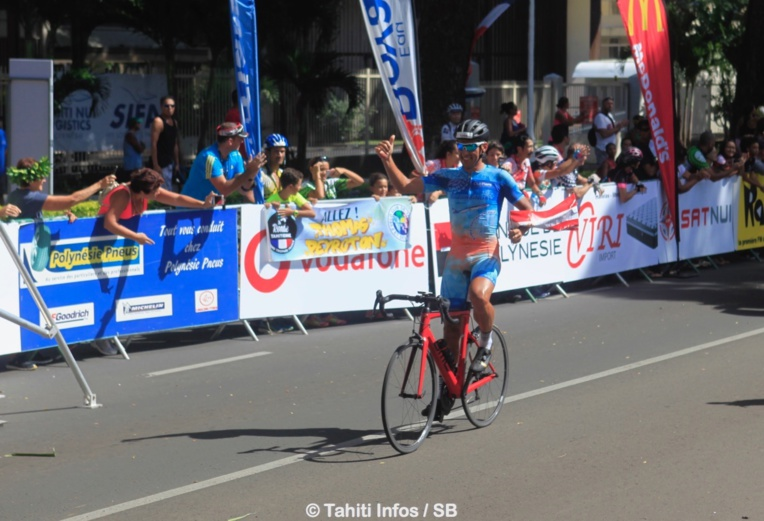 Belle victoire pour Stéphane Poulhies