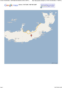 La terre tremble à nouveau sur l'île de Nouvelle Bretagne