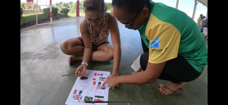 Programme chargé pour les volontaires