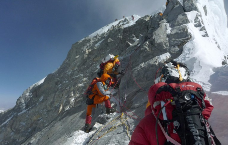 "Ultime difficulté de l'Everest, le ""ressaut Hillary"" n'est plus"