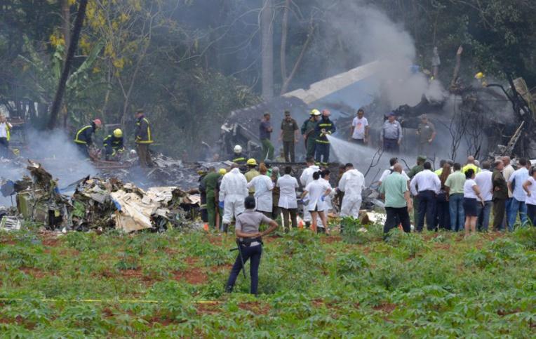 Cuba: décès d'une survivante du crash aérien, nouveau bilan de 112 morts