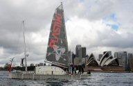 Traversée du Pacifique : le « Plastiki » touche Sydney