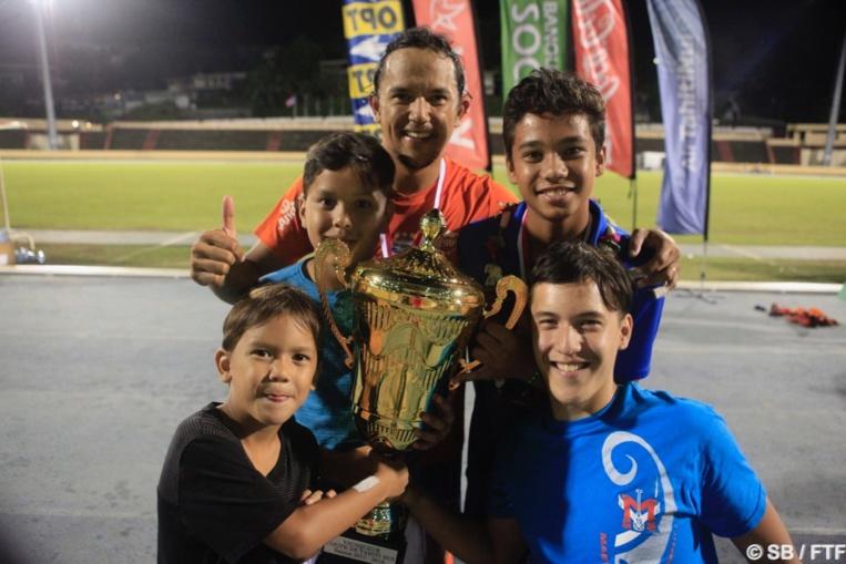 Marama Vahirua, heureux de remporter cette Coupe de Tahiti Nui