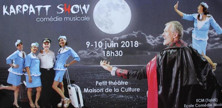 Deux comédies musicales originales présentées au petit théâtre