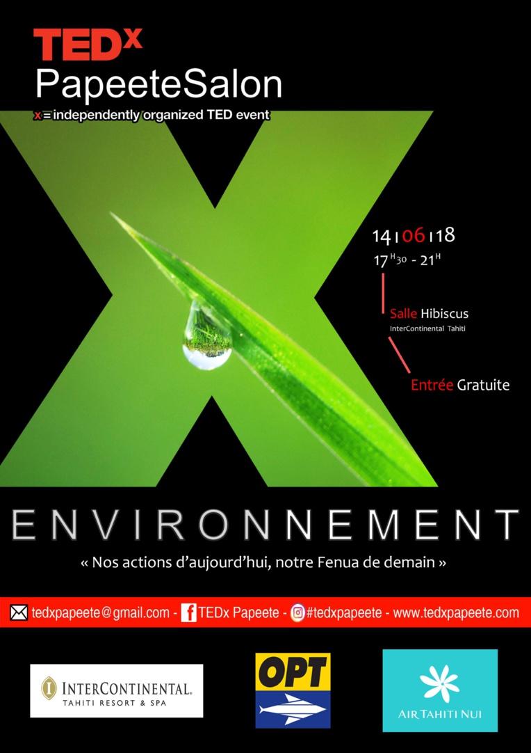 L'environnement au cœur du prochain TEDx