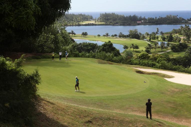 Le Tahiti Golf Open s'est déroulé dans le cadre somptueux du Moorea Green Pearl