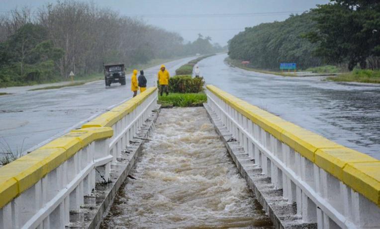 Cuba: fortes inondations après la tempête Alberto