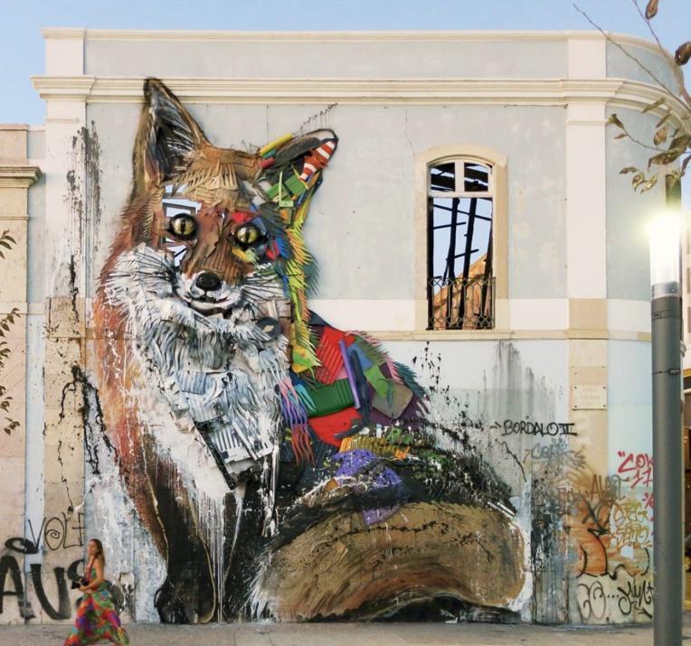 BORDALO 2 et ses œuvres « BIG TRASH ANIMAL» - Crédit Photos TNG/ONO'U-Bordalo2