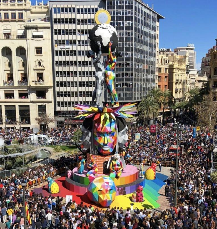 IMG 7952 / 8017 L'exceptionnel OKUDA SAN MIGUEL qui vient de Madrid. - Crédit photo : TNG/ONO'U-Okuda