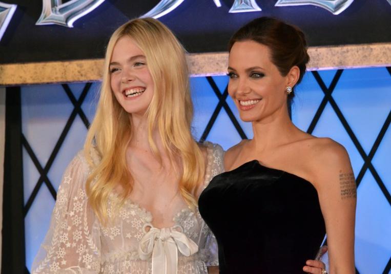 """Elle Fanning et Angelina Jolie ensemble pour un deuxième volet de """"Maléfique"""""""