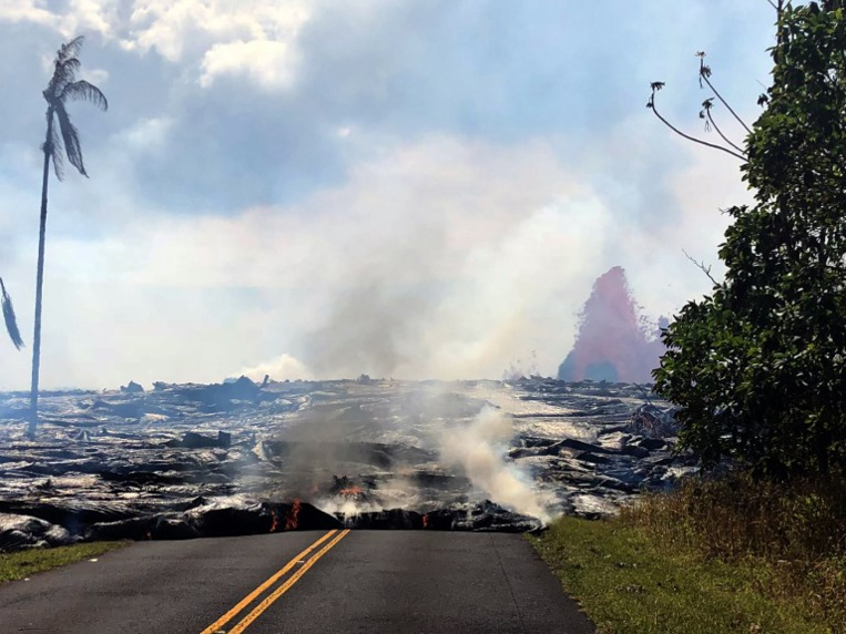 Attention, prière de ne pas rôtir de la guimauve sur le volcan d'Hawaï
