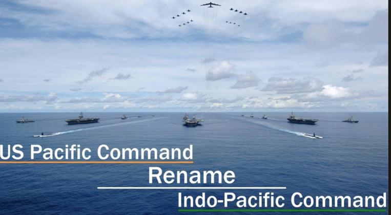 """Le commandement américain pour le Pacifique devient """"Indo-Pacifique"""""""