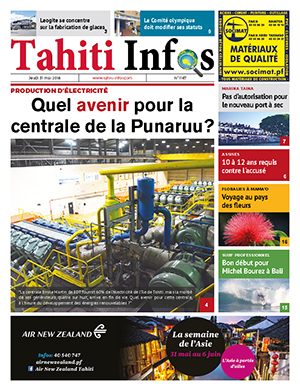 TAHITI INFOS N°1167 du 31 mai 2018