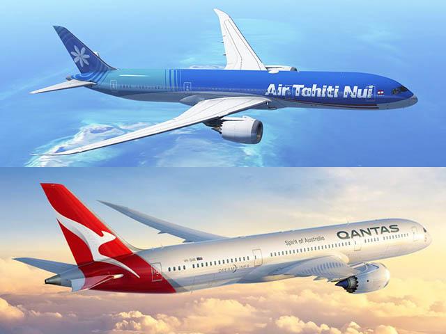 Air Tahiti Nui et Qantas renforcent leur partenariat pour mieux servir les adhérents de leurs programmes de fidélité