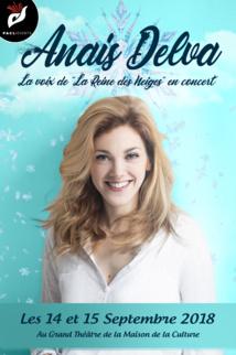 """""""La reine des neiges"""", Anaïs Delva bientôt en concert à Tahiti"""