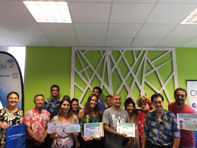 Les gagnants du concours des Meilleurs produits du Salon Made In Fenua 2018.