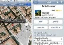 Choisir un hôtel par internet: une heure de recherche, 3 à 5 sites visités