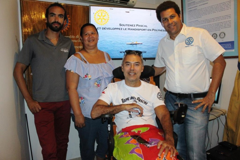 """""""Rame avec Pascal"""" un challenge pour la communauté des porteurs de handicap"""