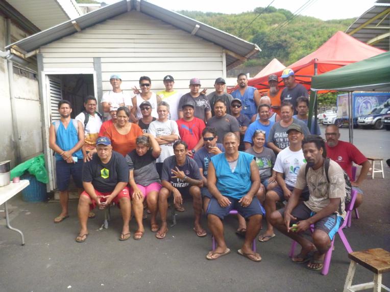 Le mouvement de grève à Tikitea a duré plus de trois semaines.