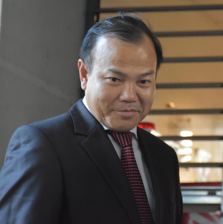 Vu Hong Nam, le vice-ministre vietnamien des affaires étrangères, mardi à Tahiti.