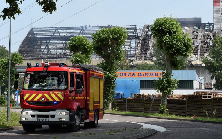 Explosion d'un silo à grains à Strasbourg: quatre blessés dont trois graves