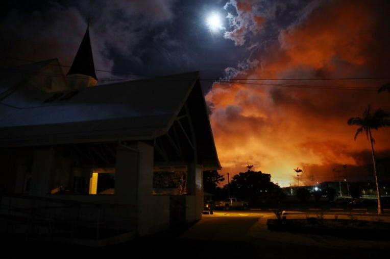 Des centaines de maisons détruites par la lave du volcan Kilauea à Hawaï