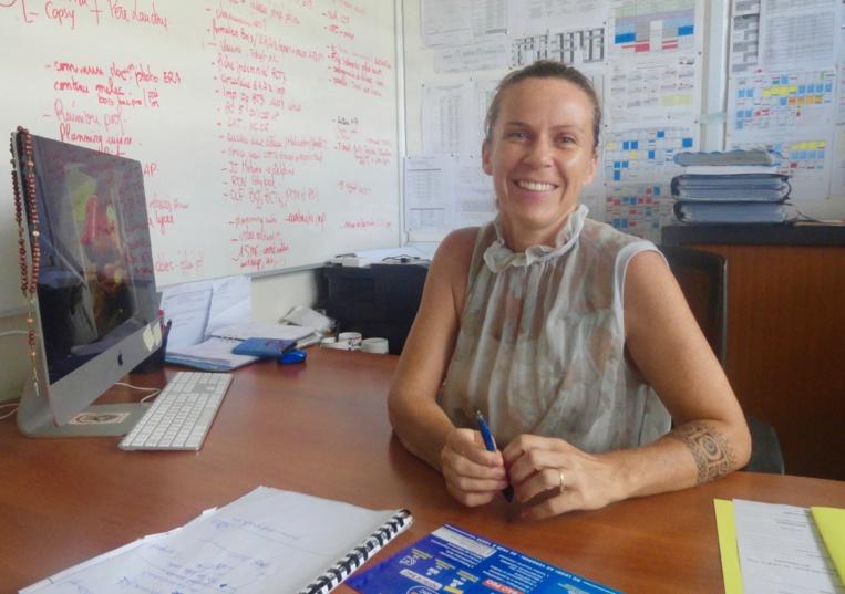 Sylvie Martin, Directrice déléguée aux formations professionnelles et technologiques du lycée