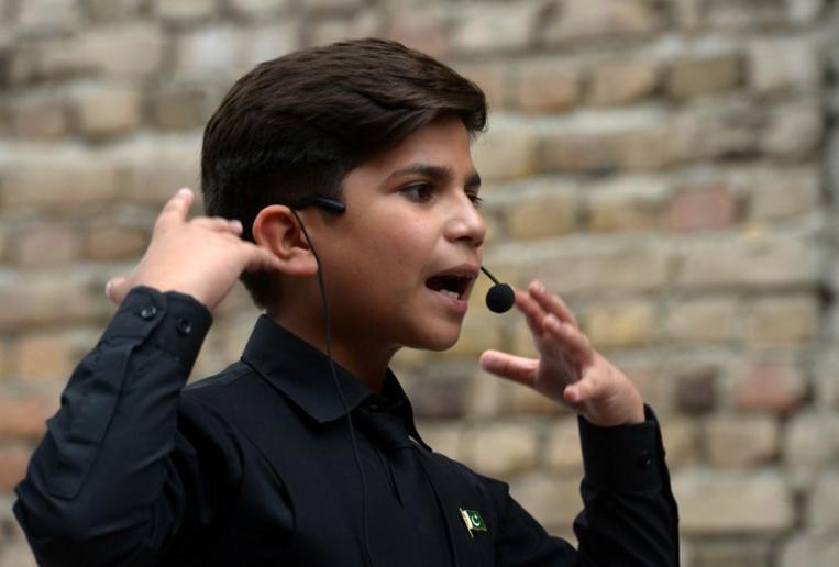 Au Pakistan, coach en motivation et star des réseaux sociaux à 11 ans