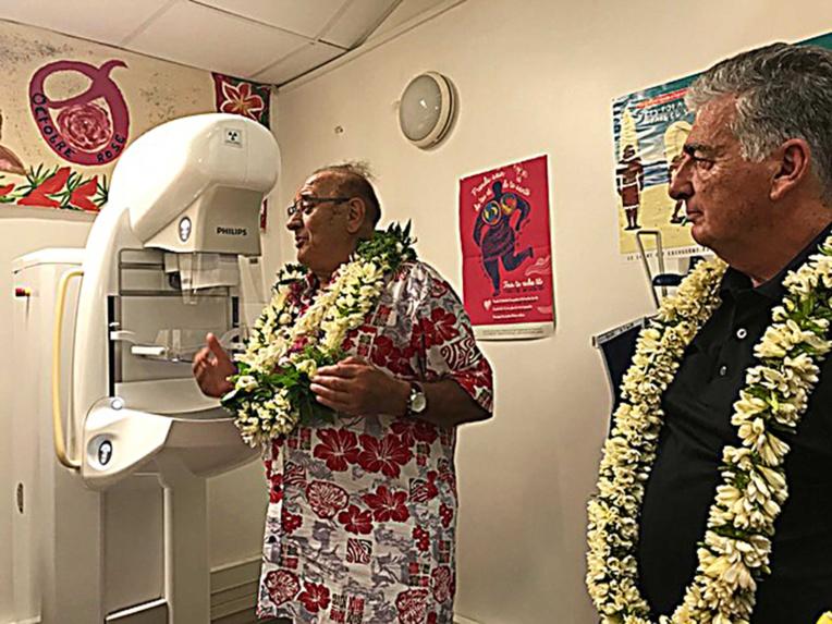 Un mammographe inauguré à l'hôpital de Nuku Hiva