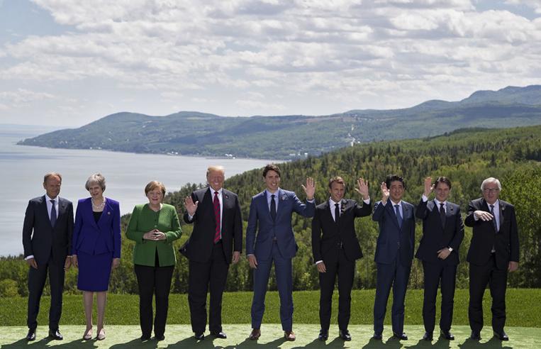 """Washington accuse le Canada de """"trahison"""" après le fiasco du G7"""