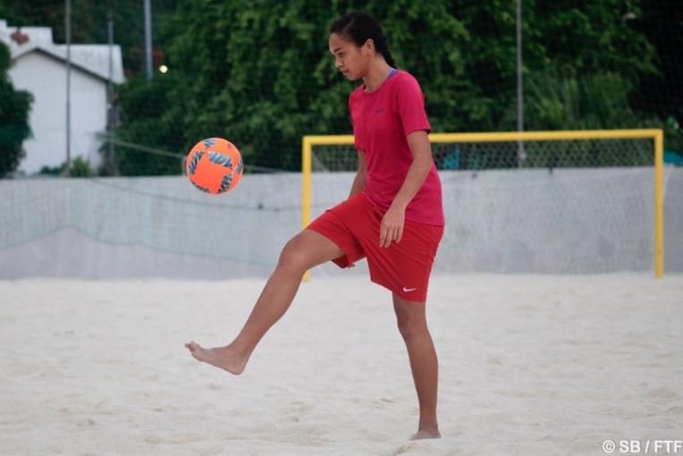 Rani Perry est passionnée de football, sous toutes ses formes