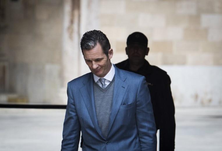 Espagne: le beau-frère du roi, plus proche de la prison, après sa condamnation en appel