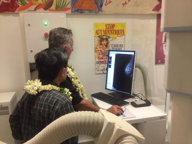 Les Marquisiennes ont enfin un mammographe à Taiohae