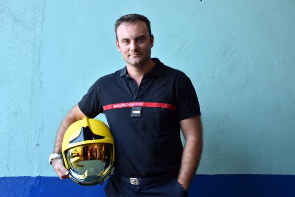 """Mathieu Durel, """"Sapeur-Pompier volontaire est un engagement"""""""