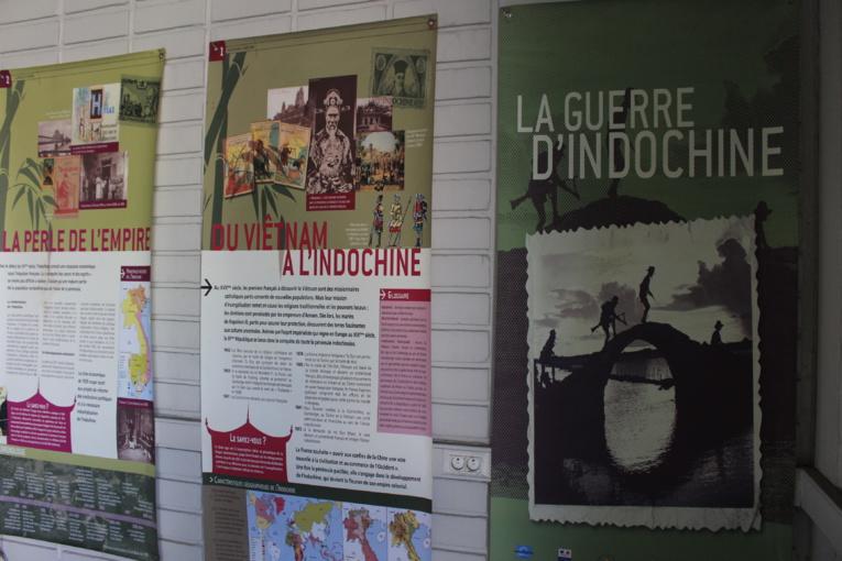 La Guerre d'Indochine, nouvelle exposition à la Maison du combattant