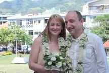 Premier mariage d'étrangers à Papeete depuis la modification de la loi