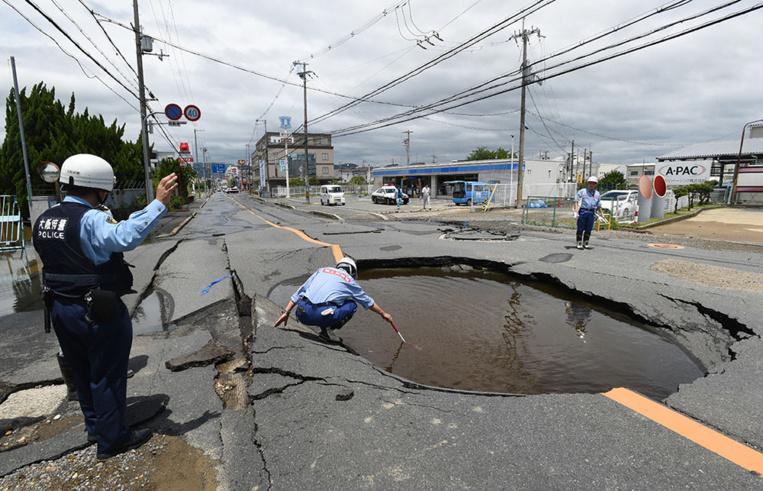 Japon: cinq morts dans le séisme d'Osaka