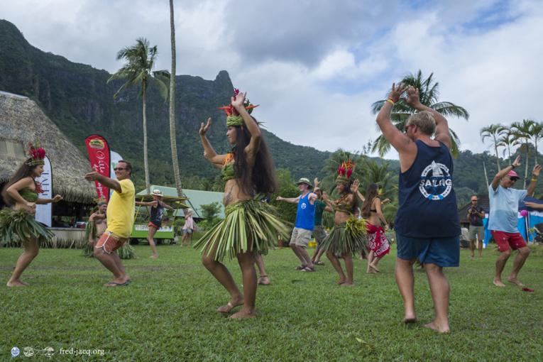 Une journée à Tahiti et deux journée à Moorea sont prévues