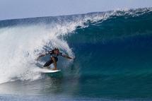 Le Tahitien Tamaroa McComb QUALIFIE pour le round3!   Image Credit: © ASP/ Kirstin Scholtz Photographer: Kirstin Scholtz