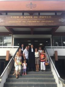 Le Barreau de Papeete a accueilli trois nouveaux avocats