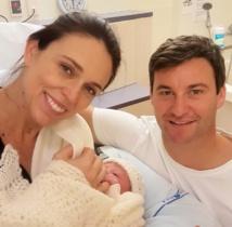 Le Première ministre néo-zélandaise donne naissance à une petite fille