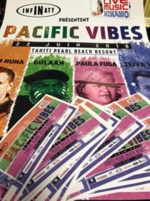 Le Pacifique chante sur scène vendredi au Tahiti Pearl Beach Resort