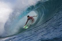 Jeremy Flores très à  l'aise sur la vague   Image Credit: © ASP/ Roberston Photographer: Steve Robertson