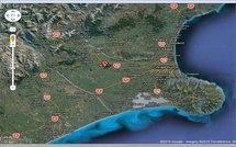 Localisation et visualisation du séisme de magnitude 7 survenu samedi près de Christchurch à 4h35 du matin (heure locale, GMT+13) via Google maps