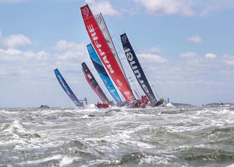 Volvo Ocean Race: Le bateau chinois Dongfeng, emmené par le Français Caudrelier, grand vainqueur